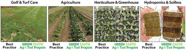 Green Earth Ag and Turf Has The Best Organic Programs