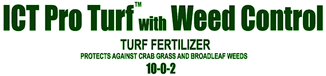 ICT Pro Turf 10-0-2 with PREEM Pre-Emergent